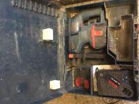 Bosch 24v sds battery drill