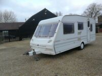ABBEY COUNTY STAFFORD 5 BERTH WITH AWNING 1996