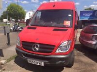 2009 MERCEDES-BENZ SPRINTER, 2148 engine, 1 OWNER FROM NEW, FULL SERVICE HISTORY,