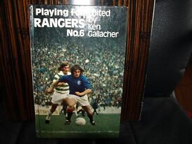 PLAYING FOR RANGERS No 6 1974