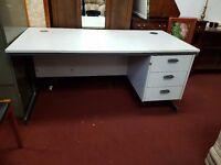 Light Grey Office Desk