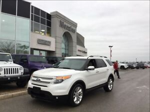 2013 Ford Explorer Limited 4x4, Navi, Cam, Sunroof, Clean Carpro