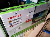 "Toshiba 43"" UHD 4K smart TV"