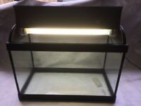 Glass fish tank 40L Excellent condition + Accessories