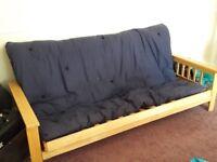 Futon bed & mattress for sale