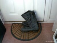 Commando Fifty Five motorcycle boots Size 9