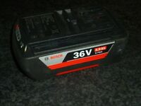 Brand new Bosch 36V Li battery