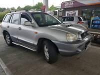 Hyundai santa fe td 4x4 2002
