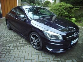 MERCEDES BENZ CLA220 AMG SPORT CDI ONLY 17000 MILES