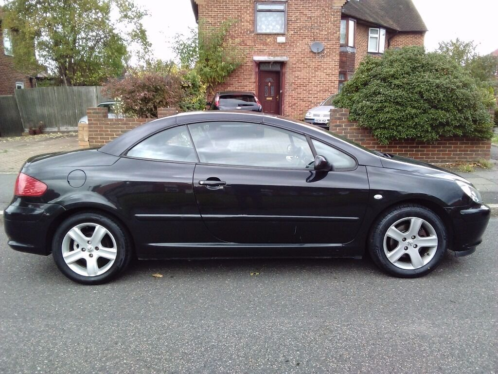 2004 Peugeot 307 Convertible Electric Hard Roof 2 0 Petrol 1 Year Mot Just Serviced 307cc