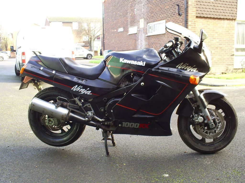 kawasaki gpz 1000 rx ninja 1 owner 16000 mls project. Black Bedroom Furniture Sets. Home Design Ideas