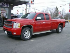 2013 Chevrolet Silverado 1500 LTZ 4X4, Leather Heated Seats, Nav
