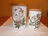 Portmeirion pair of storage jars in 'Botanic Garden' range