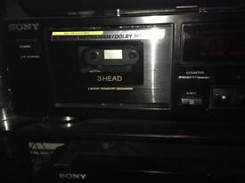 Tuner cd changer and cassette separates