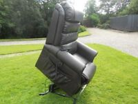 Dark Brown Electric Riser/Recliner Mobility Chair