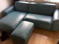Ikea Dagarn Sofa & Footstool