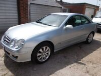 Mercedes CLK200 K Elegance Auto 2006 Silver MOT *Full Service History* *2 Owners