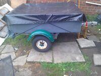 A stema car trailer ideal diy or quad camping trailer