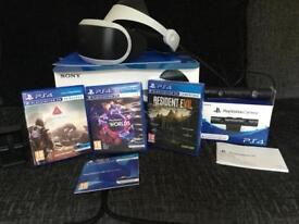 PS4 Virtual Reality headset bundle