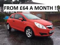 2008 VAUXHALL CORSA 1.2 ** FINANCE AVAILABLE ** FULL SERVICE HISTORY ** ALL CARDS ACCEPTED