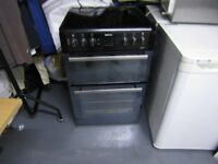 BEKO DOUBLE FREESTANDING OVEN IN BROWN BDVC66SMK/ GREAT CONDITION!!!