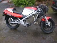 Yamaha RD 500 LC Restoration Project UK Bike 1985