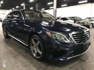 2015 Mercedes-Benz S-Class S63 AMG-4MATIC-EXECUTIVE REAR PKGE-ON