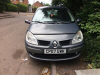 2007 Renault Scenic DYN VVT Petrol MPV Grey 1.6L BREAKING FOR SPARES