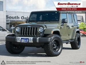 2015 Jeep Wrangler Unlimited Sahara | 4X4 | DUAL TOP | MICKEY TH