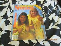 RARE WWF / WWE WRESTLING SPOTLIGHT MAGAZINE NO 9 THE ROCKERS 1990