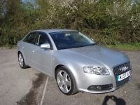 Audi A4 2.0Tdi 140 S-Line saloon Auto, New Mot, New Cam belt and water pump