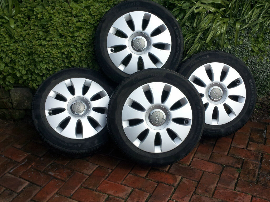 Audi A3 Alloys with winter tyres
