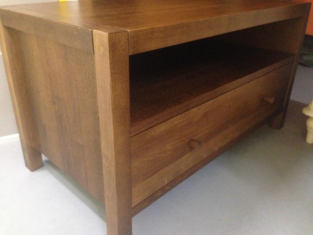 Laura Ashley Brompton oak TV Cabinet chest drawers furniture - John Lewis habitat raft oka