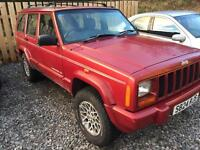 Cherokee jeep SOLD