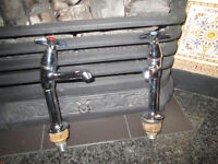 Bathroom sink taps never used