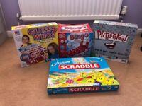 Bingo - Junior Scrabble - Pictureka - Guess Who