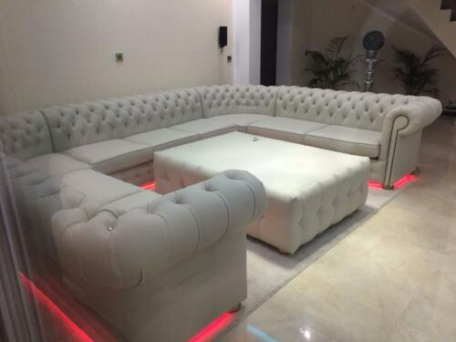 Ecksofa Chesterfield \
