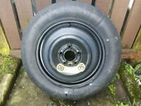 """Volvo or ford 15"""" space saver spare wheel"""