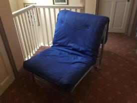 Single metal foton bed/ chair