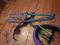 """BMX 20"""" Frame & Forks (Does not include Wheel, tyre nor pegs)"""
