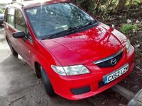 2002 Mazda Premacy 2.0 Di Turbo GXi 5dr red a3e BREAKING FOR SPARES