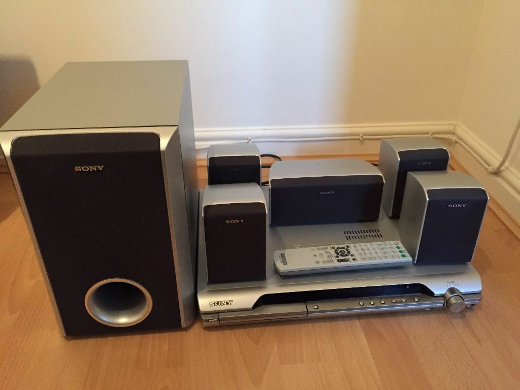 sony surround sound system with dvd player in. Black Bedroom Furniture Sets. Home Design Ideas