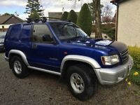 ISUZU TROOPER 3.0Ltr TURBO DIESEL 2 DOOR.