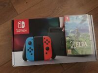 Neon Switch with The Legend Of Zelda:BOTW