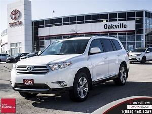 2012 Toyota Highlander Sport w/ Moonroof/ Back Up Camera/ Heated