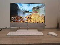"""HP Pavilion 24"""" All In One HD PC k0008na, i5 (Win 10) 8GB Mem, 2 TB HD + 256 SSD"""
