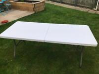 Bolero 6ft folding table x 3