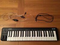 ION Key 49 - MIDI Keyboard w/ all necessary cables