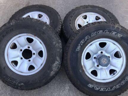 Toyota Land Cruiser IFS Wheels & tyre