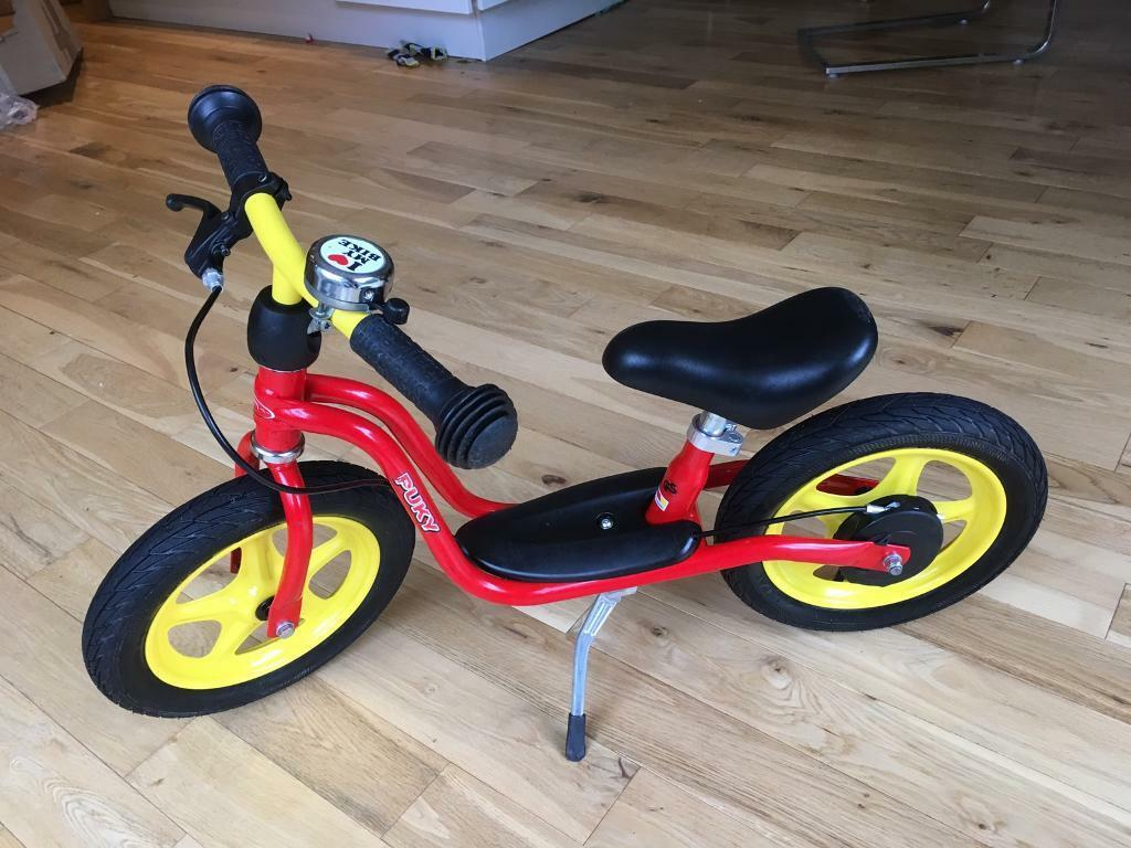 Kids Child S Balance Bike With Brake And Stand Puky Lr 1l Br
